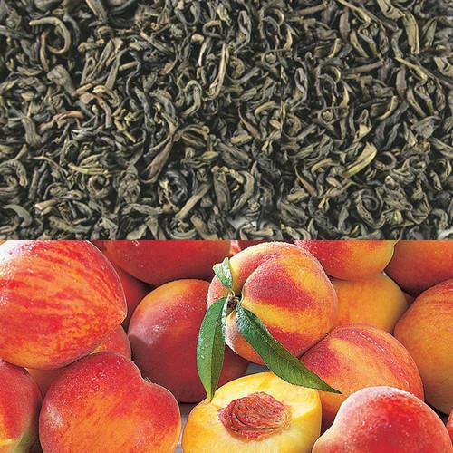 Peach Flavored Green Tea