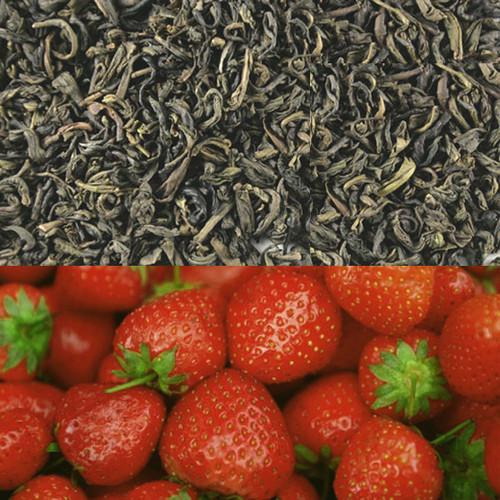 Strawberry Flavored Green Tea