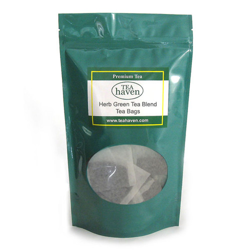 Sage Leaf Green Tea Blend Tea Bags