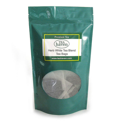 Red Clover Herb White Tea Blend Tea Bags