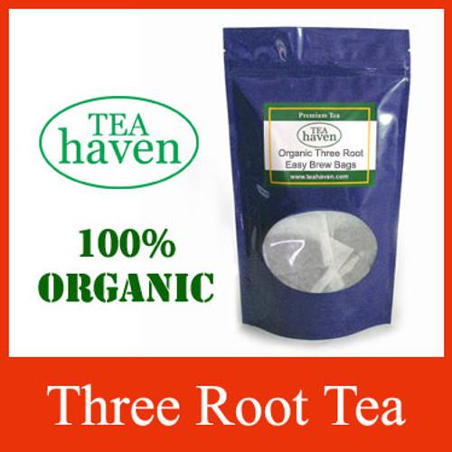 Organic Three Root Tea Easy Brew Bags
