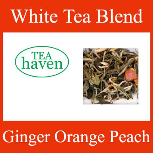 Ginger Orange Peach White Tea Blend