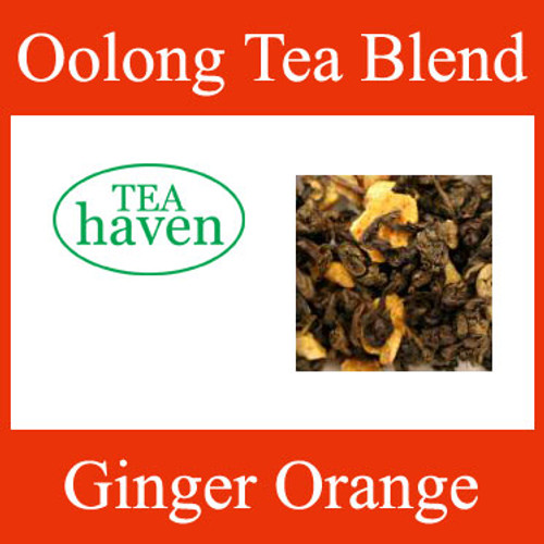 Ginger Orange Oolong Tea Blend