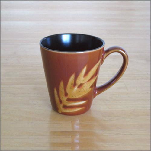 Zen Design Tea Mug - Leaves