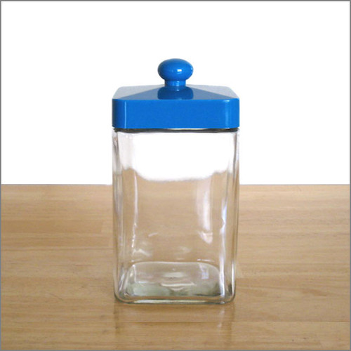 Glass Tea Canister - Medium