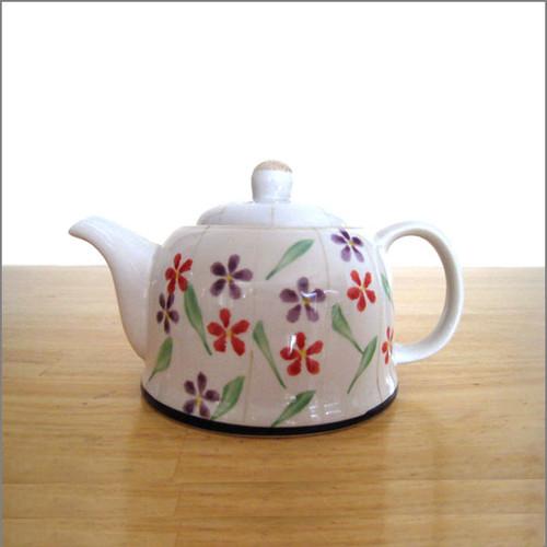 Teapot - Field of Flowers