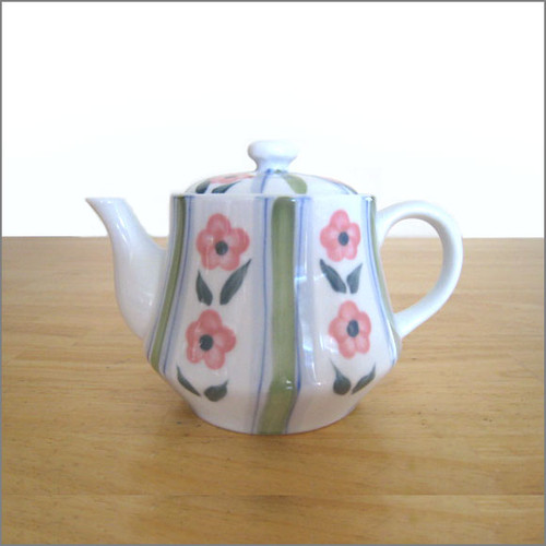 Teapot - Country Flowers