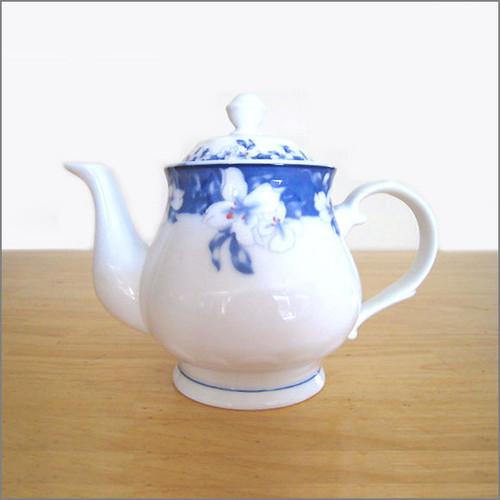 Teapot - Peony Flowers