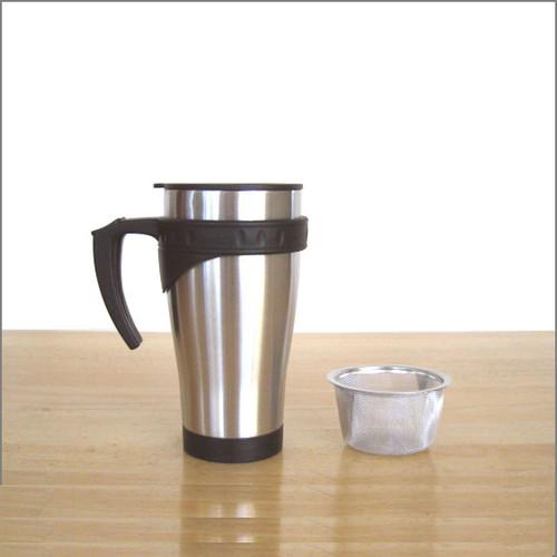 Travel Tea Filter Mug (16 oz)