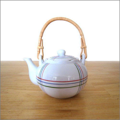 Teapot - Bamboo Handle (22 oz)
