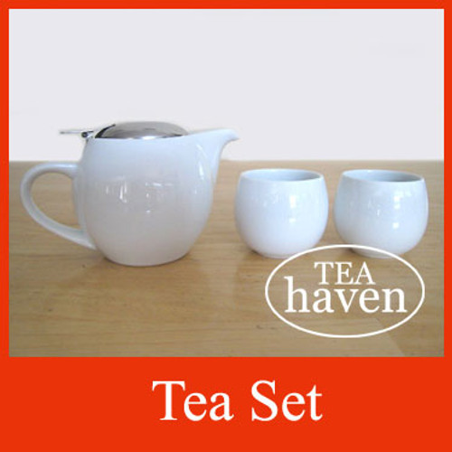 Tea Set - White
