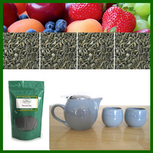 Flavored Green Tea Gift Set