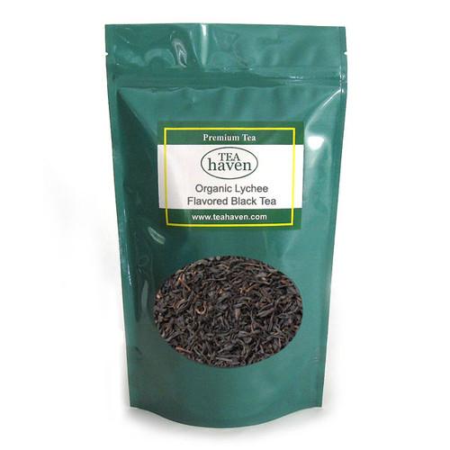 Organic Lychee Flavored Black Tea