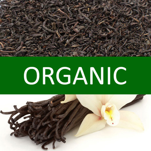 Organic Vanilla Flavored Black Tea
