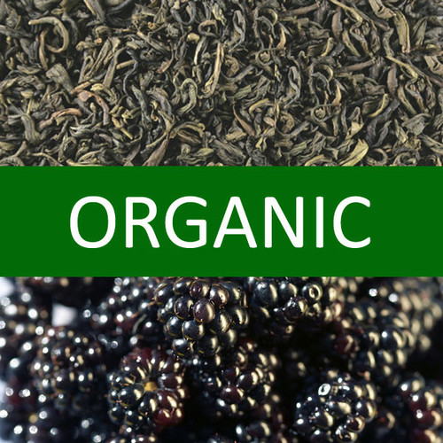 Organic Blackberry Green Tea