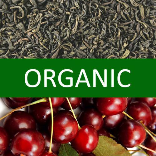 Organic Cherry Green Tea