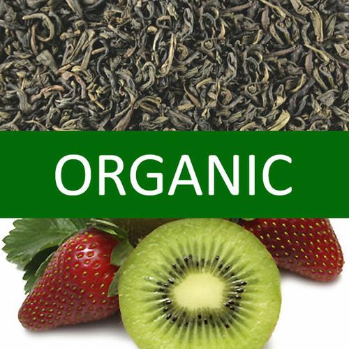 Organic Kiwi Strawberry Green Tea