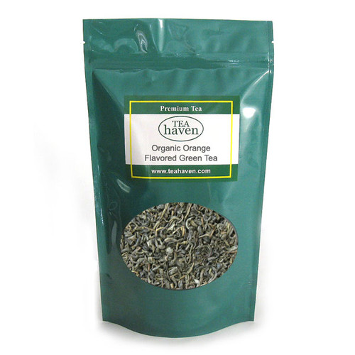 Organic Orange Flavored Green Tea