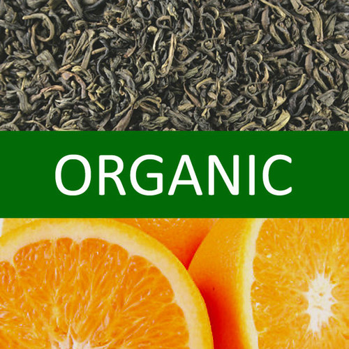 Organic Orange Green Tea