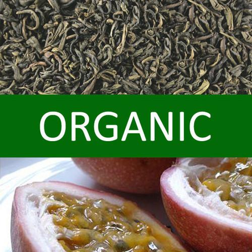 Organic Passion Fruit Green Tea