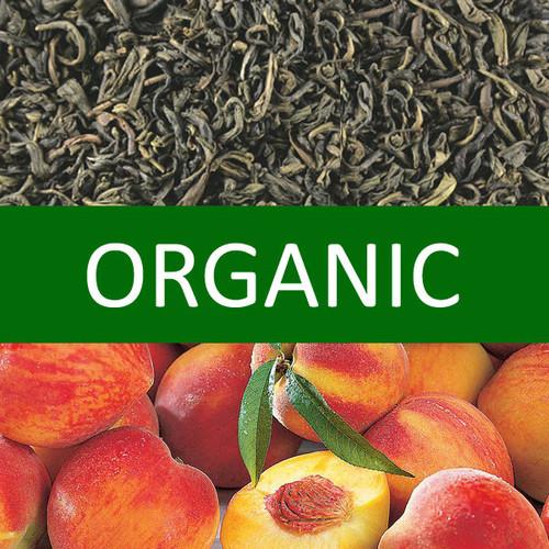 Organic Peach Green Tea
