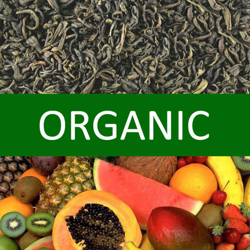 Organic Tropical Fruits Green Tea