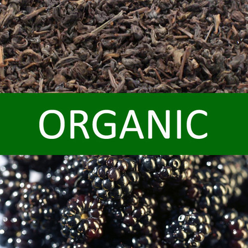 Organic Blackberry Oolong Tea