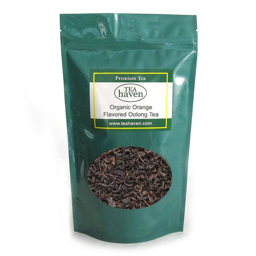 Organic Orange Flavored Oolong Tea