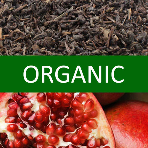 Organic Pomegranate Oolong Tea