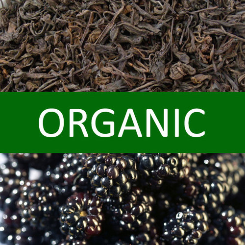 Organic Blackberry Pu-erh Tea