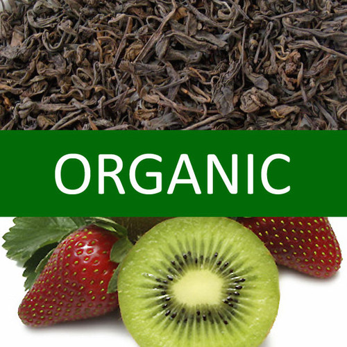 Organic Kiwi Strawberry Pu-erh Tea