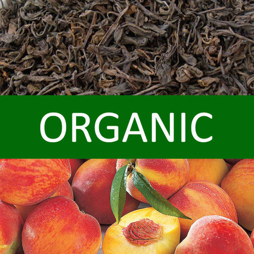 Organic Peach Pu-erh Tea