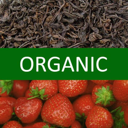 Organic Strawberry Pu-erh Tea