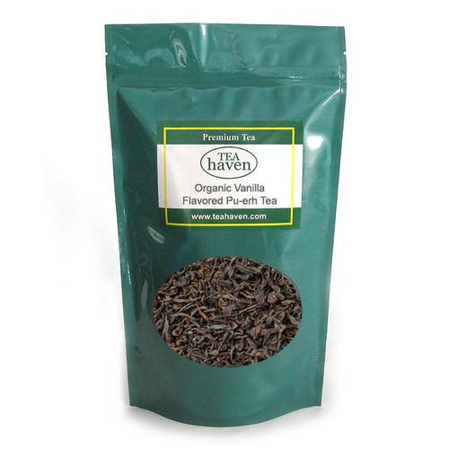 Organic Vanilla Flavored Pu-erh Tea