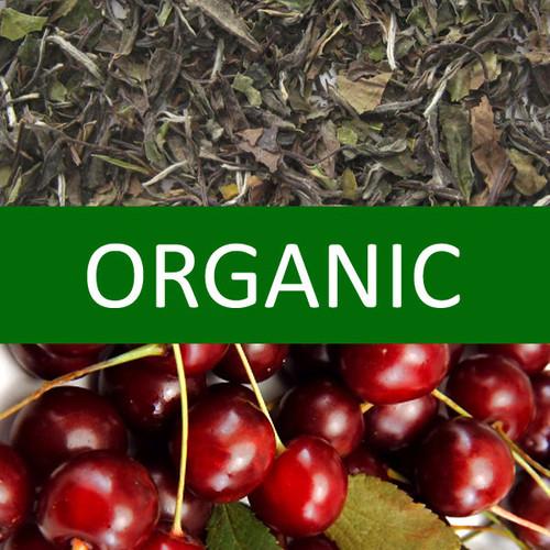 Organic Cherry White Tea