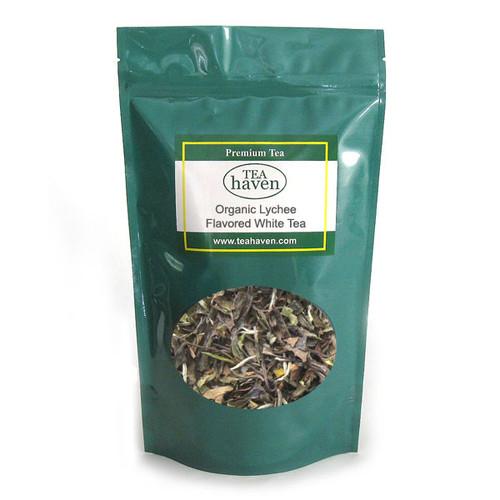 Organic Lychee Flavored White Tea