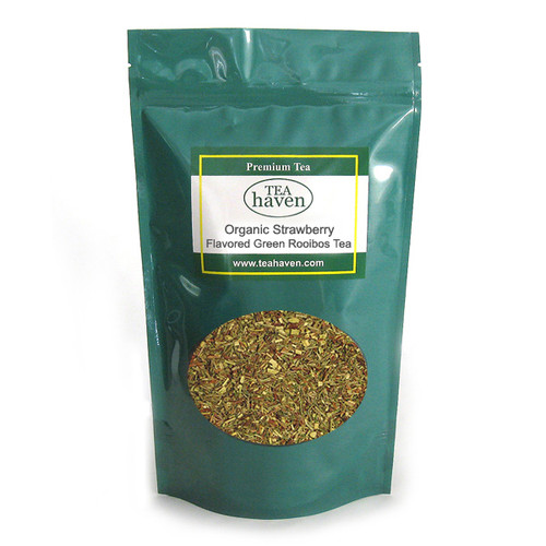 Organic Strawberry Flavored Green Rooibos Tea