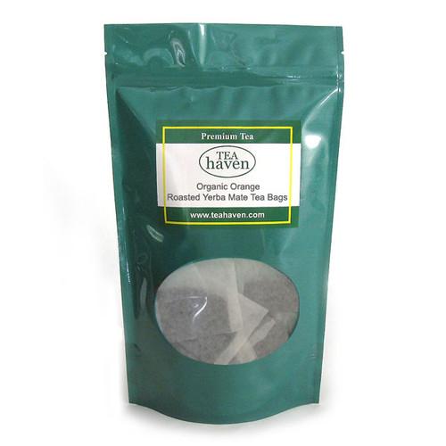 Organic Orange Roasted Yerba Mate Tea Bags