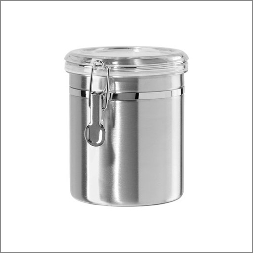 Stainless Tea Canister Large