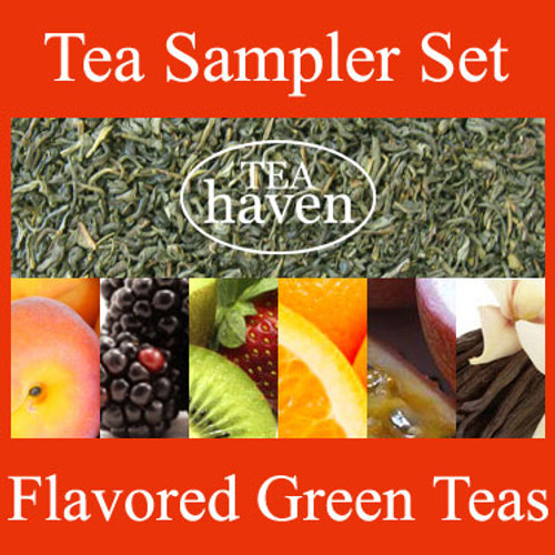 Flavored Green Tea Sampler Set 1