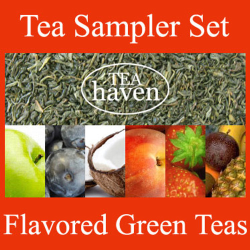 Flavored Green Tea Sampler Set 2