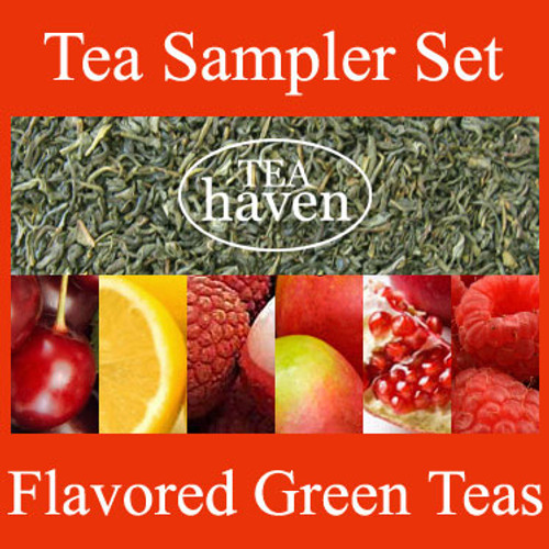 Flavored Green Tea Sampler Set 3