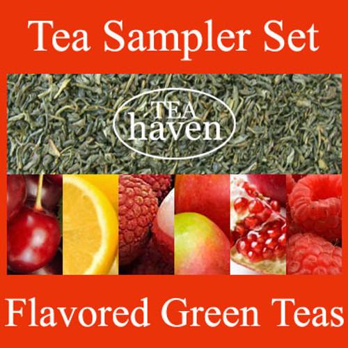 Flavored Green Tea Sampler Set 3