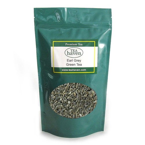 Earl Grey Flavored Green Tea