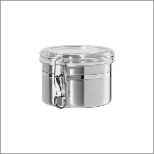 Stainless Tea Canister Small