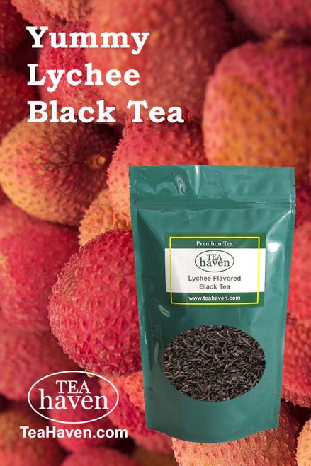 Lychee Flavored Black Tea