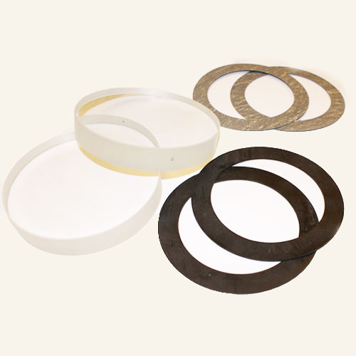 """Replacement Glass & Gaskets for 4"""" with Neoprene Seals-TXZ 69 N"""