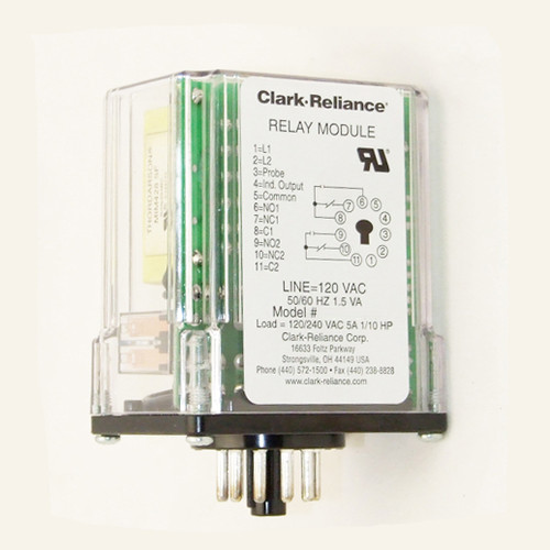 Relay Module 100K Sensitivity Direct Mode 120VAC For Control Unit-RECID 24R