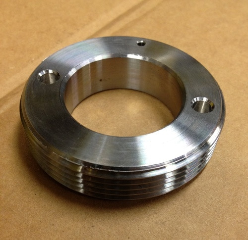"""JT 1-1/2"""" & 2"""" 316 SS Threaded retainer-TR 025 S"""