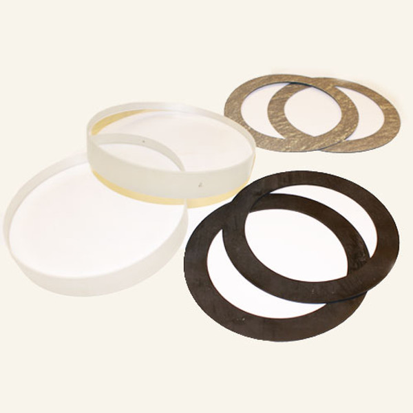 """Replacement Glass & Gaskets for 1-1/2"""" & 2"""" with Neoprene Seals-TXX 37 N"""